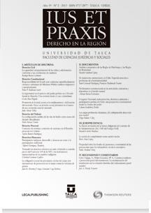 Revista Ius et Praxis Vol. 19 núm. 2 2013