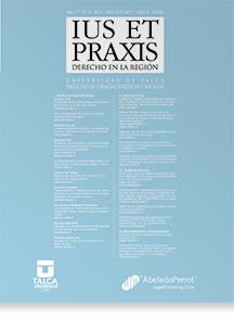 Revista Ius et Praxis Vol. 17 núm. 2 2011