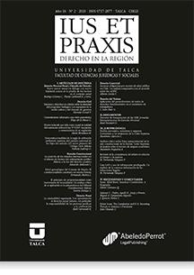 Revista Ius et Praxis Vol. 16 núm. 2 2010